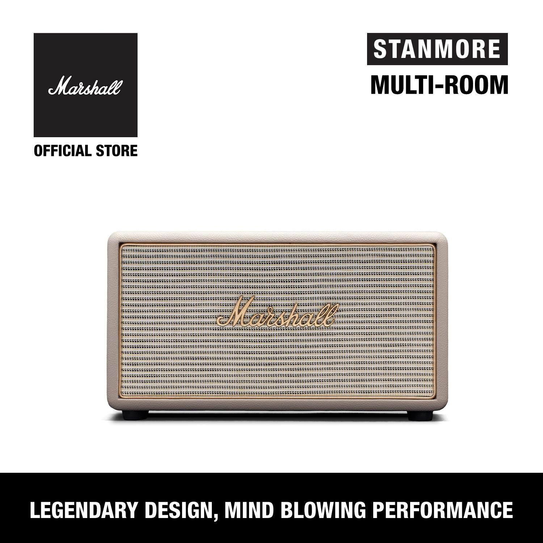ยี่ห้อไหนดี  นครพนม ลำโพงบลูทูธ Marshall Stanmore Multi-Room Cream - Marshall Stanmore Multi-Room Speaker Cream