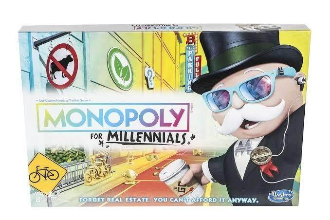 HASBRO ORIGINAL MONOPOLY FOR MILLENIALS เกมส์เศรษฐี