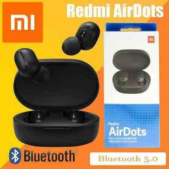 ยี่ห้อไหนดี  พระนครศรีอยุธยา Xiaomi Redmi AirDots หูฟังบลูทูธ 5.0 ไร้สายที่แท้จริง / Xiaomi Mi AirDots หูฟังบลูทูธ TWS เวอร์ชันสำหรับวัยรุ่น