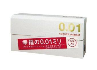 Sagami Original ถุงยางอนามัย 0.01 5 ชิ้น