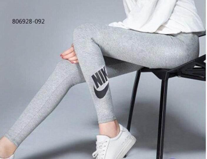 ขายดีมาก! Nike กางเกง เลกกิ้ง ออกกำลังกาย ผู้หญิง ไนกี้ Grey ของแท้ 100% ส่งไวด้วย kerry!!!