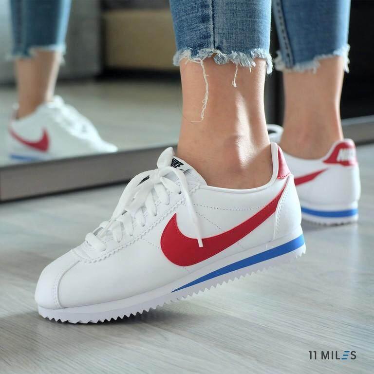 ยี่ห้อไหนดี  พะเยา 11milesstoreของแท้ !!!! พร้อมส่ง รองเท้าวิ่งผู้หญิง Nike รุ่น Nike Cortez Classic