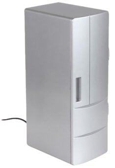 ITandHome ตู้ขนาดเล็ก ชาร์จผ่านสาย USB - สีเทา