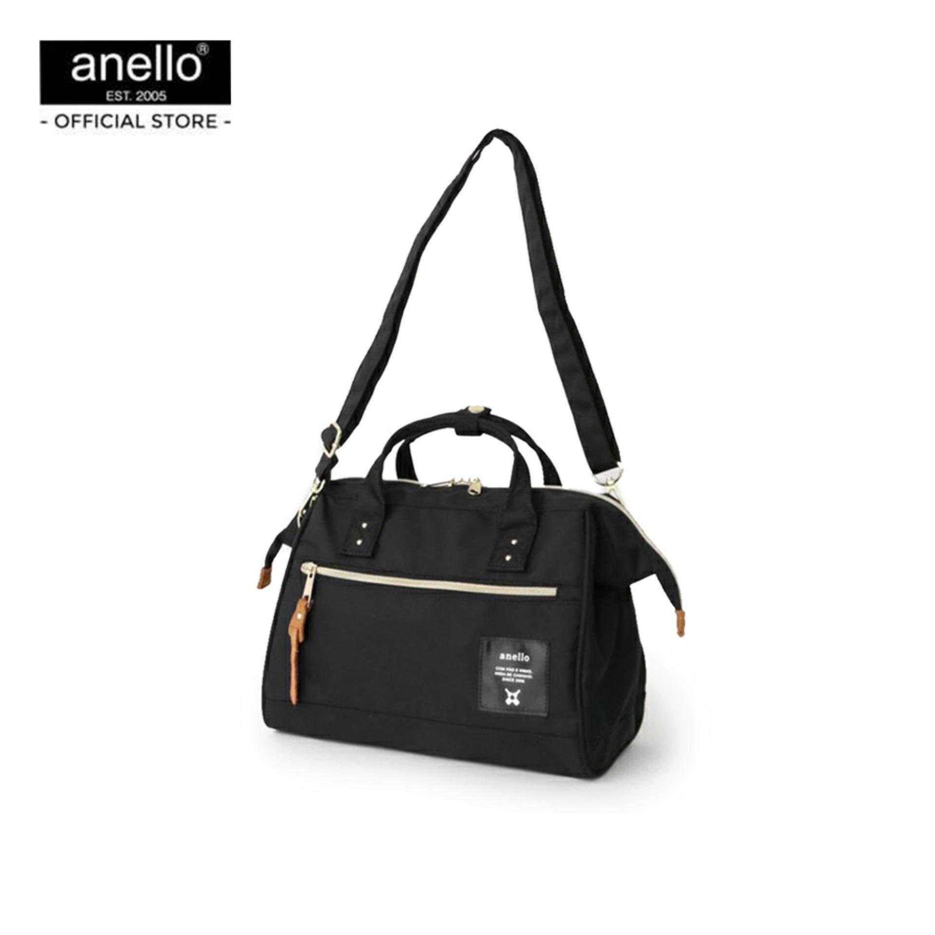 ยี่ห้อไหนดี  อำนาจเจริญ anello กระเป๋าสะพายไหล่ Regular Middle size shoulder Bag_FSO-H004