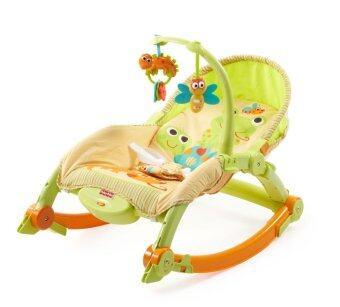 Fisher Price Newborn-To-Toddler Portable Rocker - Lizards