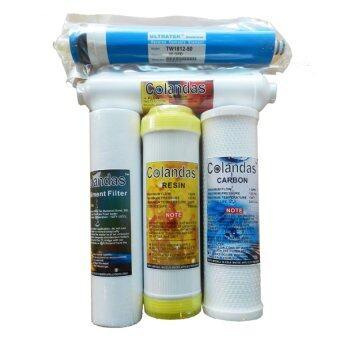 Colandas ไส้กรองน้ำ 5 ขั้นตอนระบบ RO50G คุณภาพดีที่สุด