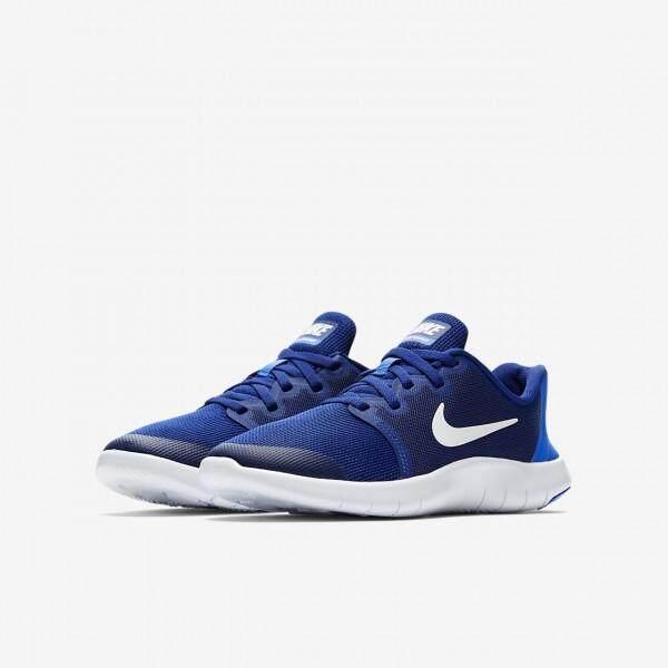 รองเท้าวิ่งไนกี้ รองเท้าผ้าใบ Nike Running Shoes Flex Contact Royal Blue นุ่มเบา สบายเท้า ++ลิขสิทธิ์แท้ 100% จาก NIKE พร้อมส่ง ส่งด่วน kerry++