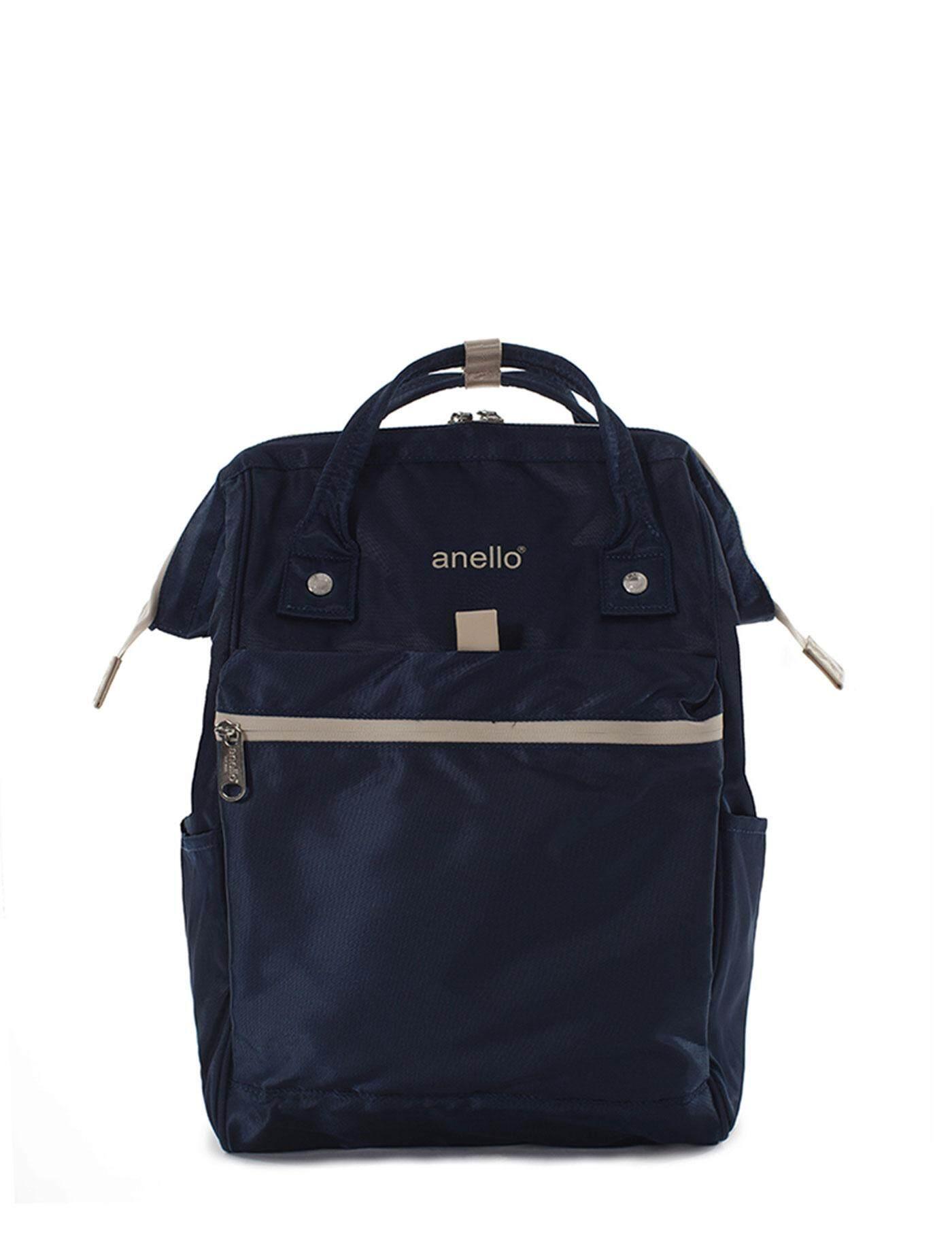 สินเชื่อบุคคลซิตี้  ชัยนาท ANELLO กระเป๋าผู้ชาย กระเป๋าเป้ รุ่น FSO-B023-NV สีน้ำเงิน