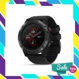 ยี่ห้อนี้ดีไหม  สุราษฎร์ธานี GARMIN นาฬิกาสมาร์ทวอช รุ่น Fenix 5X Plus สี Carbon Gray