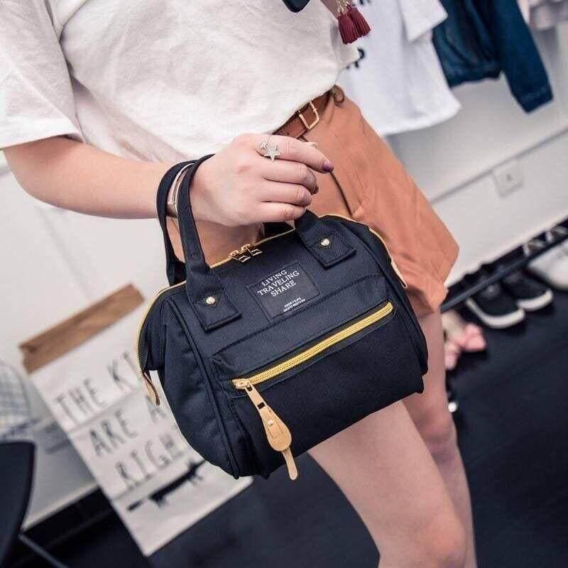 กระเป๋าเป้สะพายหลัง นักเรียน ผู้หญิง วัยรุ่น กาญจนบุรี BAIFA SHOP Japan Women Bag กระเป๋าสะพายข้างสำหรับผู้หญิง lt01