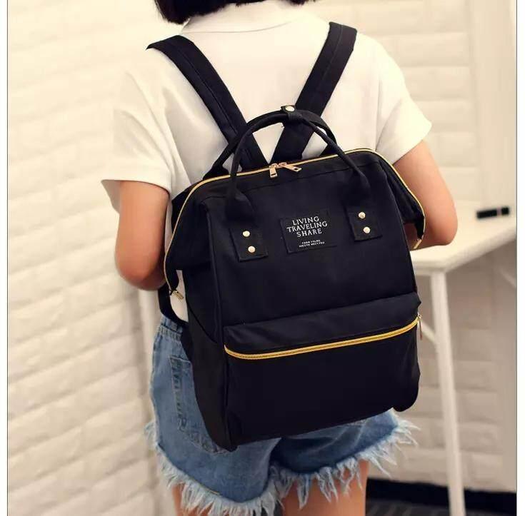 กระเป๋าเป้ นักเรียน ผู้หญิง วัยรุ่น นครสวรรค์ BAIFA SHOP NO  LT 02 กระเป๋าเป้LIVINGใบใหญ่จุใจ สพายหลัง