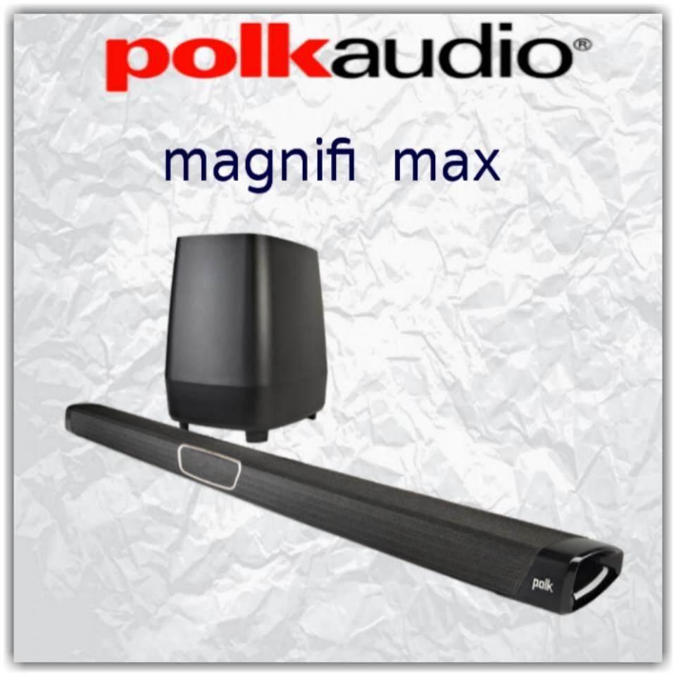 สอนใช้งาน  พิจิตร Polk Audio magnifi max รับประกัน 3ปีศูนย์ Power  Buy