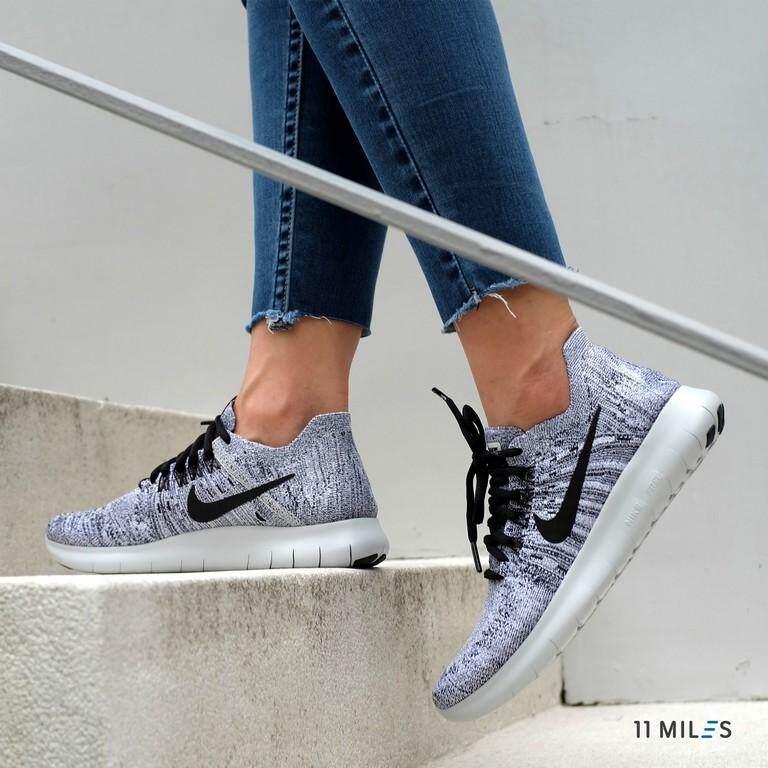 ยี่ห้อนี้ดีไหม  บุรีรัมย์ 11milesstoreของแท้ !!!! พร้อมส่ง รองเท้าผ้าใบ Nike รุ่น Nike Free RN Flyknit 2017