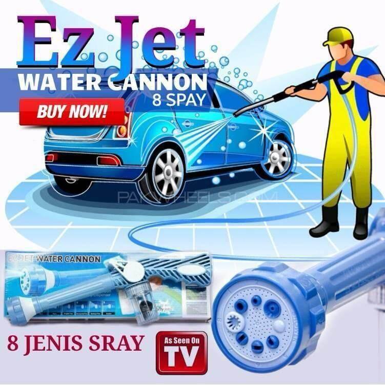 เก็บเงินปลายทางได้ หัวฉีดน้ำแรงดันสูงอัจฉริยะ 8 in 1 EZ JET WATER CANNON เติมแชมพู น้ำยา หรือ ปุ๋ยลงไปได้ ส่งฟรี Kerry
