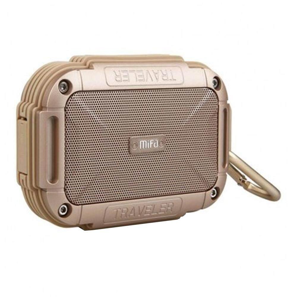 ยี่ห้อไหนดี  ปทุมธานี SPEAKER BLUETOOTH (ลำโพงบลูทูธ) MIFA F7 (GOLD) ส่งฟรี บริการเก็บเงินปลายทาง #speaker #bluetoothspeaker #ลำโพง #ลำโพงบลูทูธ #Marshall