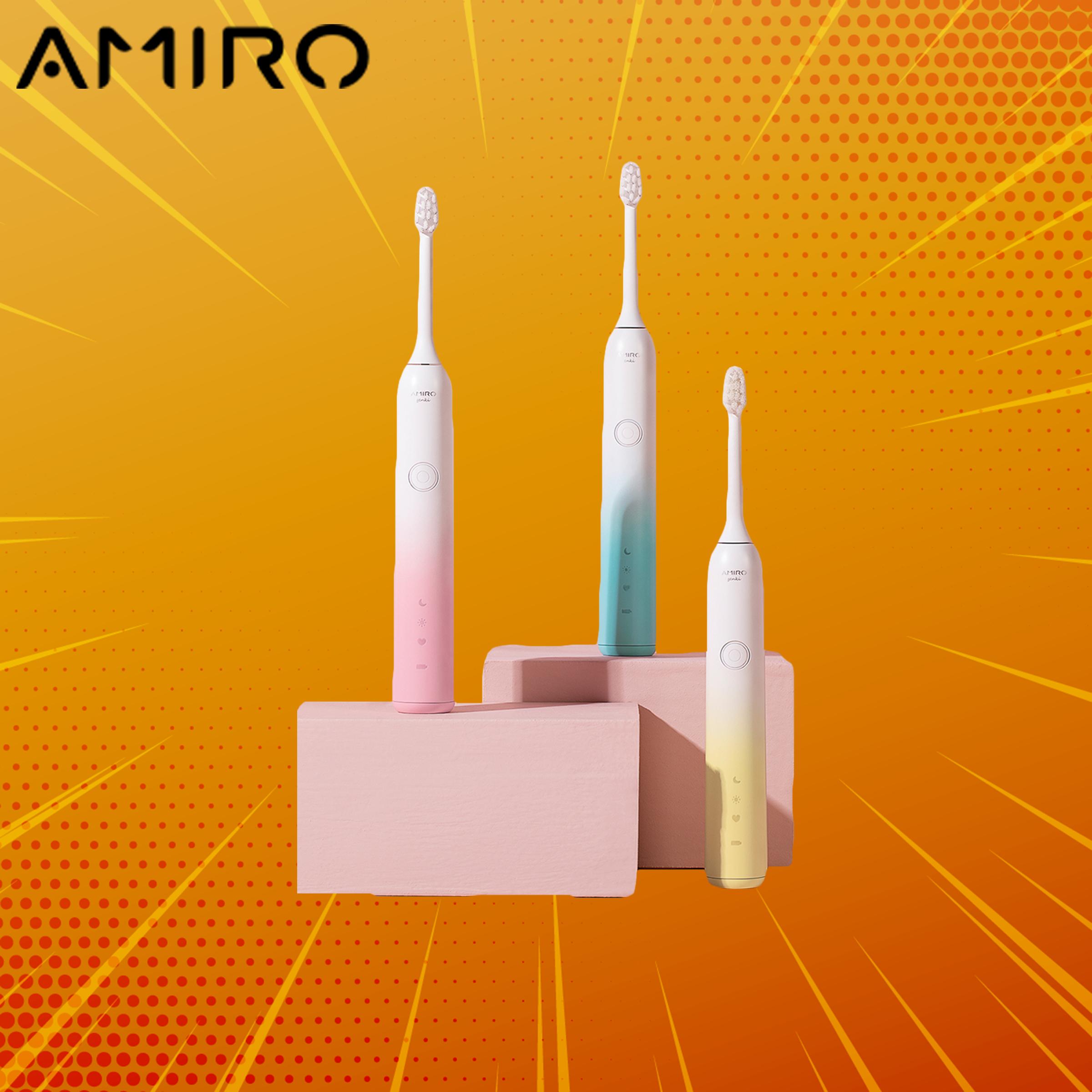 แปรงสีฟันไฟฟ้า ช่วยดูแลสุขภาพช่องปาก ขอนแก่น New Xiaomi Amiro Electric Toothbrush   แปรงสีฟันไฟฟ้า