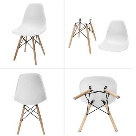 เช่าเก้าอี้ กรุงเทพ เก้าอี้ สไตล์โมเดิร์น สวยทันสมัย ที่นั่งพลาสติก ขาไม้สีบีช รุ่น (YF-1094)