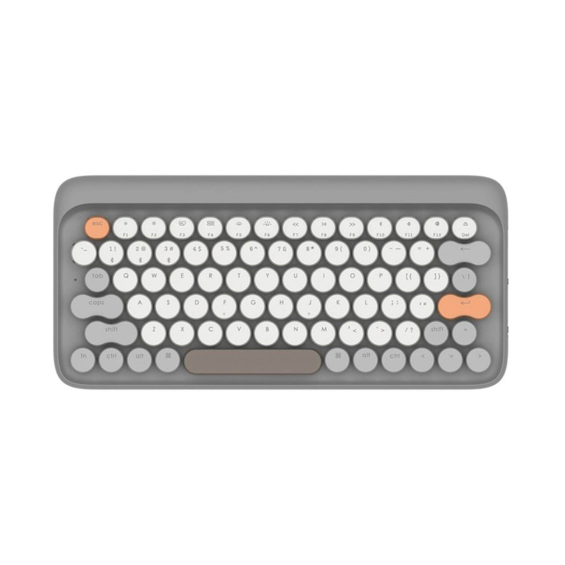 ยี่ห้อไหนดี  เพชรบุรี Lofree Four Seasons Mechanical Keyboard Autumnal Grey (Autumn)