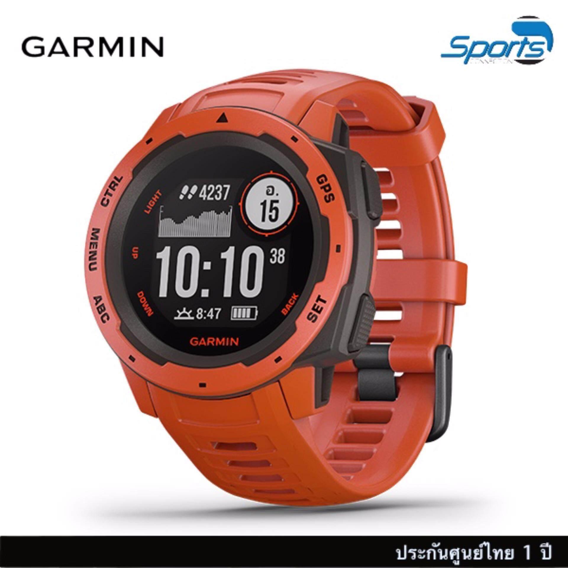 ยี่ห้อนี้ดีไหม  เชียงใหม่ Garmin Instinct อุปกรณ์ GPS แข็งแรง ทนทาน และสมบุกสมบัน