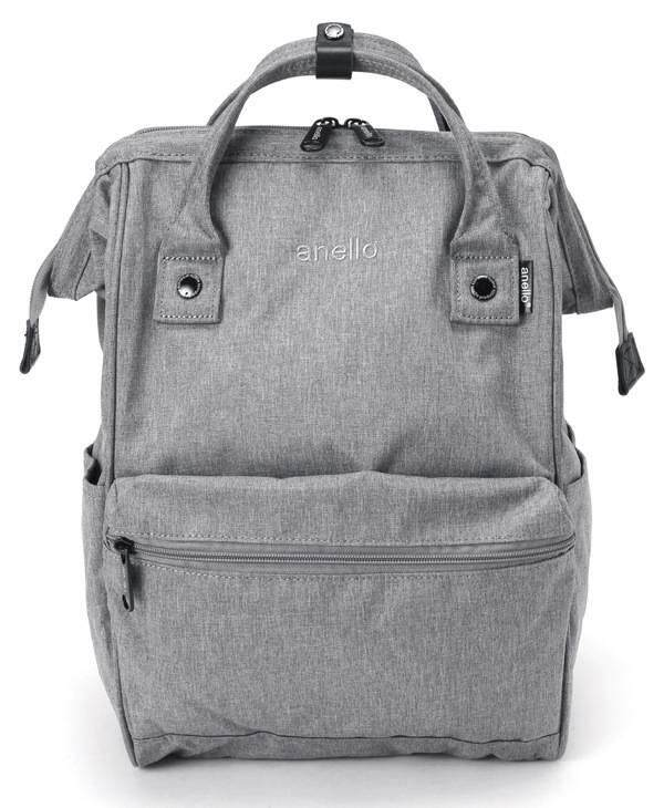 การใช้งาน  เลย Anello Regular Backpack-Heat Tone-Gray