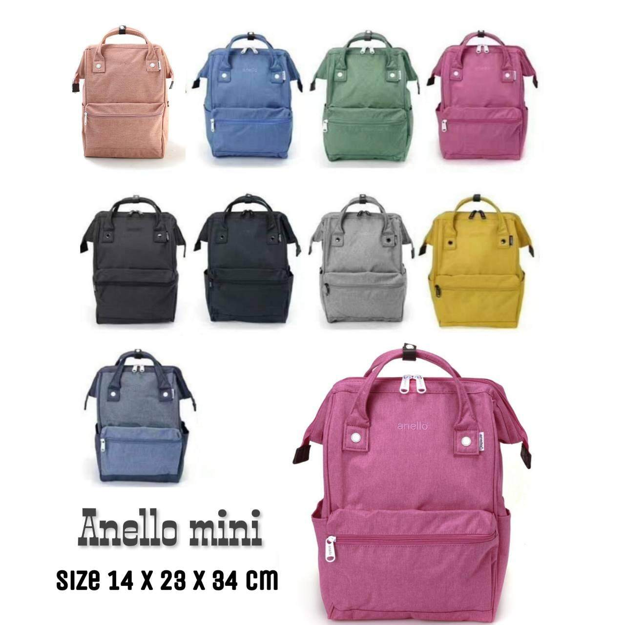 ตราด Anello Mini Backpack-Heat Tone Waterproof (PI)