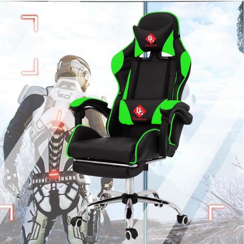 การใช้งาน  Raching Gaming Chair  เก้าอี้เกมส์ เก้าอี้เล่นเกม เก้าอี้เกมมิ่ง เก้าอี้คอเกม BG Furniture รุ่น E-02