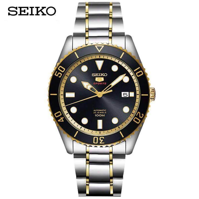สอนใช้งาน  นครสวรรค์ Seiko 5 นาฬิกาข้อมือ Sports Automatic DIVER 100 M Mens Watch รุ่น SRPB94J1
