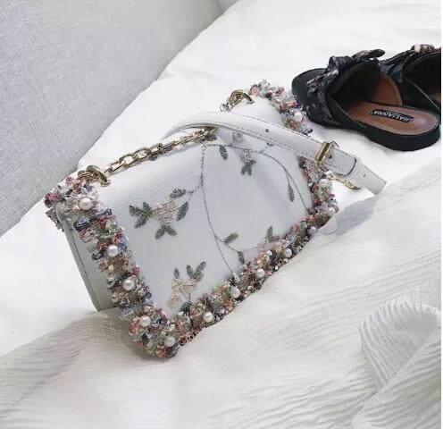 กระเป๋าเป้ นักเรียน ผู้หญิง วัยรุ่น เลย กระเป๋าสะพายข้างเรียบหรูดูสไตล์คุณหนูดูแพงมากค่าbag