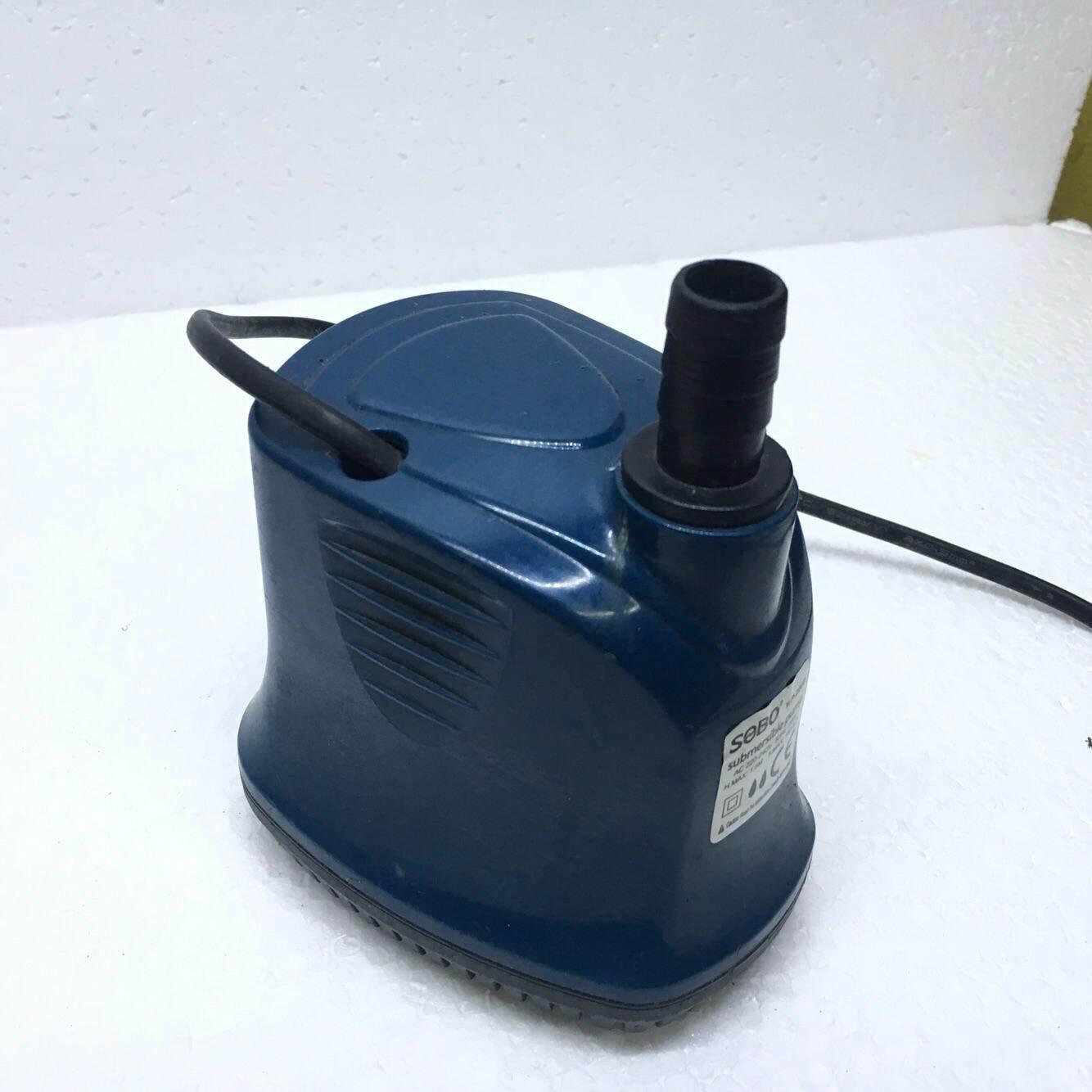 SOBO WP-500D ปั้มน้ำตู้ปลา บ่อปลา กำลังไฟ 55w 4500ลิตร/1ช.ม. WP500D ปั๊มน้ำ ปั๊มแช่ ปั๊มน้ำพุ ปั๊มน้ำไดโว่