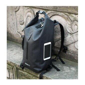 """ซื้อ/ขาย กระเป๋าเป้กันน้ำ 100% สไตล์ถุงทะเลมีสายสะพาย มีช่องใส่แล็ปท็อป15"""" ความจุขนาด 25L Rhinowalk รุ่น TF710"""