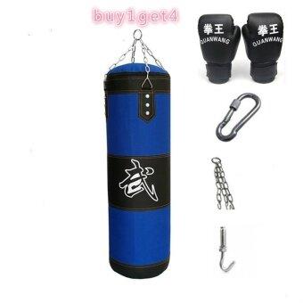 120 เซนติเมตรมวย Heavy Punching Training (ว่างเปล่า) ลำลองออกกำลังกายทรายสีฟ้า