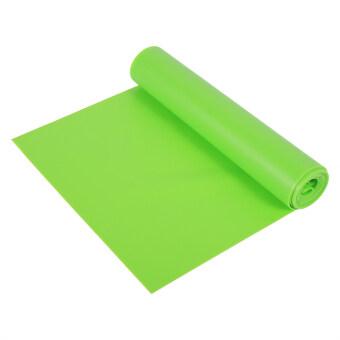 1.5M Yoga Exercise Rubber Training Elastic Strap(Green) - intl