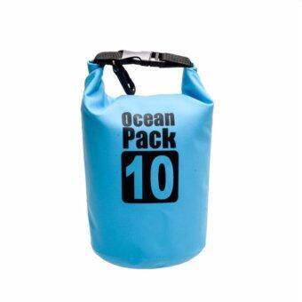 ราคา 199shop กระเป๋ากันน้ำ ถุงกันน้ำ ถุงทะเล Waterproof Bag ความจุ 10 ลิตร