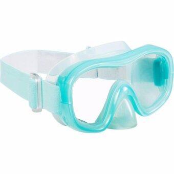 2561 2sportclub หน้ากากดำน้ำด้วยท่อหายใจ (สีเขียวอ่อน/เทา) Size S