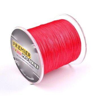 300m Multifilament Superbraid Sea Fishing Line Colorfast Braided Line 0.14mm Line Diameter Maximum Tension 10lb/4.5kg Red