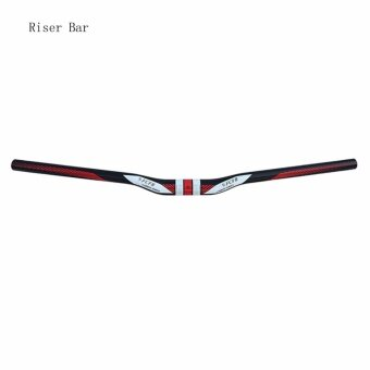 3K Glassy Lightweight Carbon Fiber Handlebar for Mountain Bicycle (Riser Bar) - intl