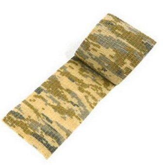 สร้าง 5ซม X 4.5แผ่น Kombat กองทัพทหารปืนลอบตัดเทปลายพรางกลางแจ้ง(ทะเลทราย)-