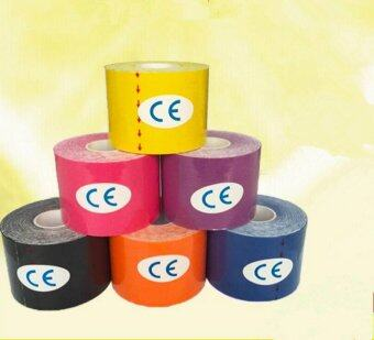 6xSports Kinesiology Tape Rehabilitation Tape 5mx2.5cm for Muscle Pain and Sports Injuries - intl