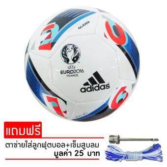 ADIDAS ฟุตบอลหนัง อาดิดาส ยูโร 2016 Beau Jeu Football Euro 16 Glider (AC5419) (590)