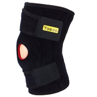 Adjustable Neoprene Basic Open Knee Support Brace PatellaStabilizer Kneecap Support and Lateral Stabilizers