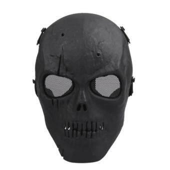 กะโหลกกระดูก Airsoft หน้ากากแบบเต็มหน้าปก