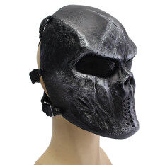 Airsoft Paintball Full Face Protection Skull Mask Outdoor Tactical Gear Iron surface