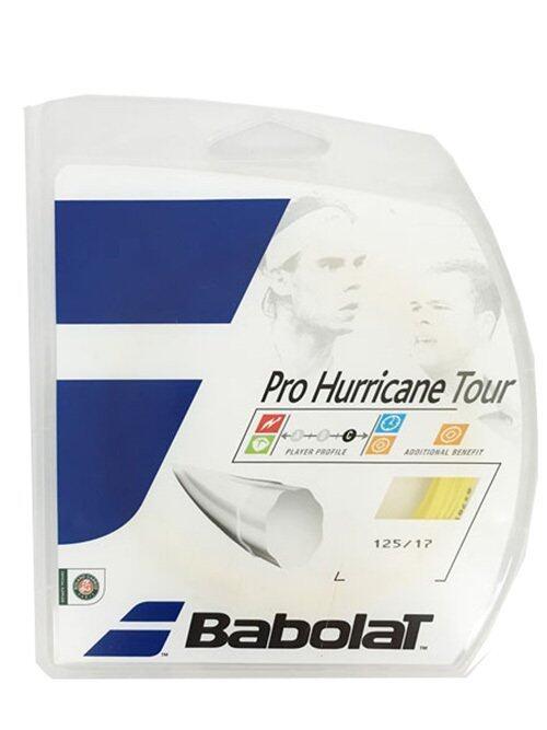 Babolat เอ็นเทนนิส BABOLAT PRO HURRICANE TOUR 12M 130-16 (YELLOW)