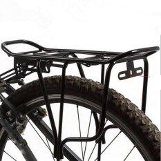 Back Rear Bag Pannier Rack Alloy Bike Bicycle Seat Post Frame Carrier Holder New - intl