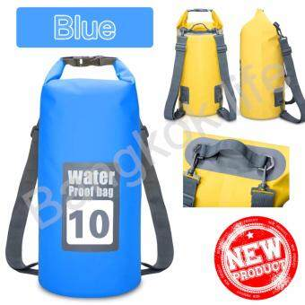 Bangkok life กระเป๋ากันน้ำ ถุงกันน้ำ ถุงทะเล Waterproof Bag ความจุ 10 ลิตร กระเป๋า กระเป๋าสะพาย กระเป๋าเป้สะพายหลัง