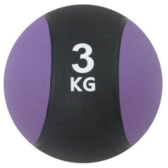 ประเทศไทย BEGINS Medicine Ball เมดิซินบอล ลูกบอลน้ำหนัก 3 KG (สีม่วง)