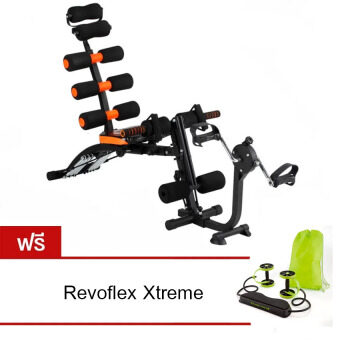Best Deal เครื่องออกกำลังกาย Six Pack Care รุ่นล่าสุด แถมฟรี Revoflex Xtreme