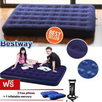 ซื้อ/ขาย Bestway ที่นอนเป่าลม Air Mattresses air cushion bed inflatable bed Queen Airbed with 2 pillows and air pump