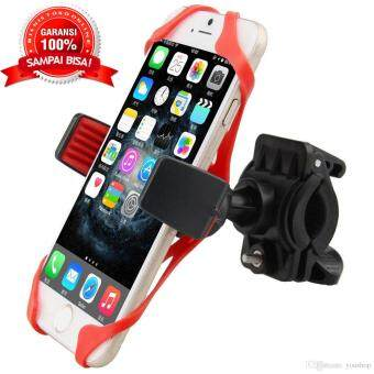 Bike Bicycle Handlebar 360-degree Rotation Cell Phone Mount Holderfor iPhone Samsung Xiaomi Universal Below 9cm Width Smart Phone GPS