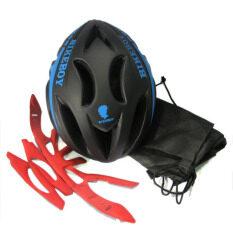 หมวกจักรยาน BikeBoy ( สีดำ/น้ำเงิน )